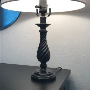 Other - Brushed Metal Lamp